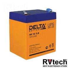 DELTA HR 12-5.8 - Аккумулятор для UPS. 12 V, 5,8 A, Купить DELTA HR 12-5.8 - Аккумулятор для UPS. 12 V, 5,8 A в магазине РадиоВидео.рф, Delta HR