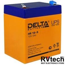 DELTA HR 12-5 - Аккумулятор для UPS. 12 V, 5 A, Купить DELTA HR 12-5 - Аккумулятор для UPS. 12 V, 5 A в магазине РадиоВидео.рф, Delta HR
