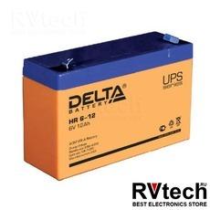 DELTA HR 6-12 - Аккумулятор для UPS. 6 V, 12 A, Купить DELTA HR 6-12 - Аккумулятор для UPS. 6 V, 12 A в магазине РадиоВидео.рф, Аккумулятор Delta HR