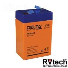 DELTA HR 6-4.5 - Аккумулятор для UPS. 6 V, 4,5 A, Купить DELTA HR 6-4.5 - Аккумулятор для UPS. 6 V, 4,5 A в магазине РадиоВидео.рф, Серия Delta HR