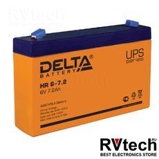DELTA HR 6-7.2 - Аккумулятор для UPS. 6 V, 7,2 A, Купить DELTA HR 6-7.2 - Аккумулятор для UPS. 6 V, 7,2 A в магазине РадиоВидео.рф, Delta HR