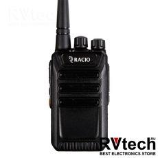 Racio R110 Рация UHF, 2Вт, 16 каналов, 3000mAh, Купить Racio R110 Рация UHF, 2Вт, 16 каналов, 3000mAh в магазине РадиоВидео.рф, Рации Racio (Россия)