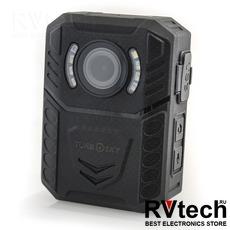 Нагрудный видеорегистратор TurboSky XZA, Купить Нагрудный видеорегистратор TurboSky XZA в магазине РадиоВидео.рф, Нагрудный видеорегистратор