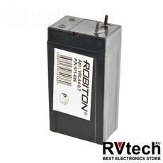 Аккумулятор ROBITON VRLA4-0.7, Купить Аккумулятор ROBITON VRLA4-0.7 в магазине РадиоВидео.рф, ROBITON