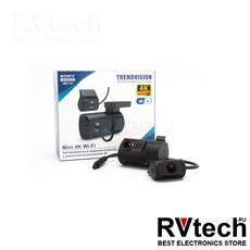 Видеорегистратор TrendVision Mini 4K Wi-Fi 2CH, Купить Видеорегистратор TrendVision Mini 4K Wi-Fi 2CH в магазине РадиоВидео.рф, Видеорегистраторы классические с экраном