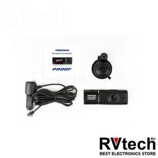 TRENDVISION PROOF, Купить TRENDVISION PROOF в магазине РадиоВидео.рф, Видеорегистраторы с двумя камерами в одном корпусе