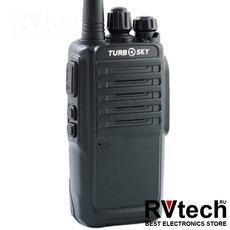 TurboSky T8 Портативная рация UHF диапазона, Купить TurboSky T8 Портативная рация UHF диапазона в магазине РадиоВидео.рф, Рации Turbosky (Россия)