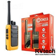 Радиостанция СОЮЗ-1х2 (оранжевый), Купить Радиостанция СОЮЗ-1х2 (оранжевый) в магазине РадиоВидео.рф, Рации СОЮЗ (Россия)