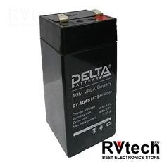 DELTA DT 4045 (47мм) - аккумулятор на весы 4В 4А, Купить DELTA DT 4045 (47мм) - аккумулятор на весы 4В 4А в магазине РадиоВидео.рф, Delta DT