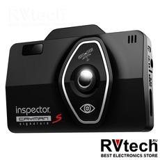 Видеорегистратор с сигнатурным радар-детектором Inspector Cayman S, Купить Видеорегистратор с сигнатурным радар-детектором Inspector Cayman S в магазине РадиоВидео.рф, Сигнатурные комбо (регистраторы с радар-детектором)