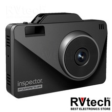 Видеорегистратор с радар-детектором Inspector Piranha, Купить Видеорегистратор с радар-детектором Inspector Piranha в магазине РадиоВидео.рф, Комбо (регистраторы с радар-детектором)