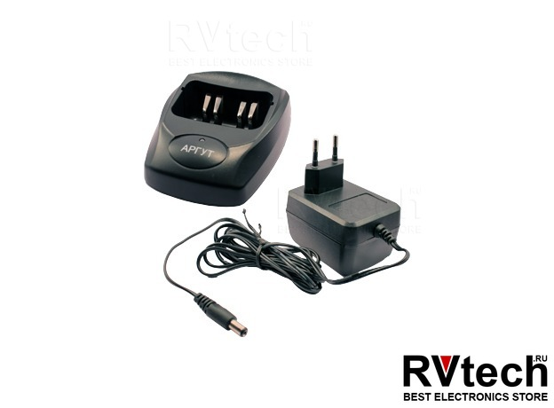 Зарядное устройство для АРГУТ А-43 Li-ION (1800 мАч) + сетевой адаптер