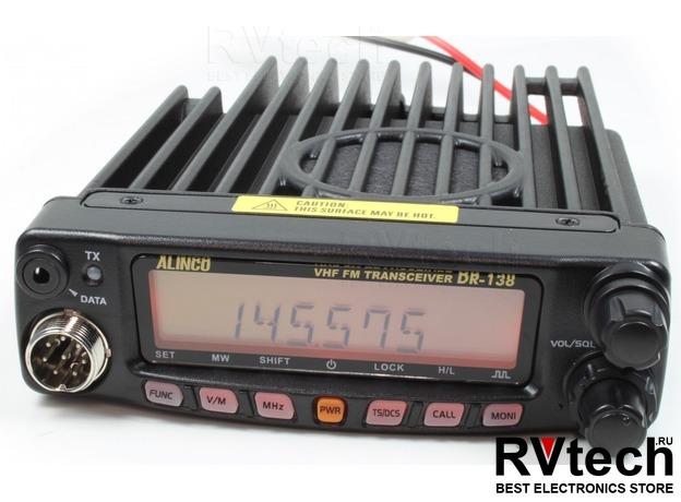 Рация автомобильная ALINCO DR-138S оригинал с доставкой по России, Купить Рация автомобильная ALINCO DR-138S оригинал с доставкой по России в магазине РадиоВидео.рф, UHF/VHF Alinco