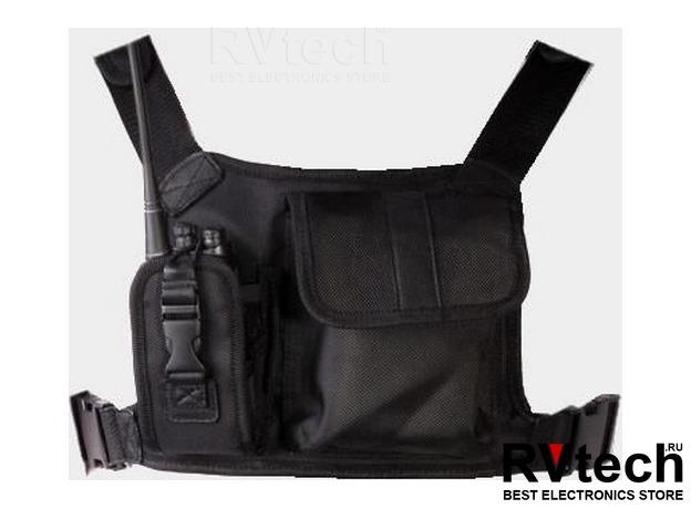 LCBN13 - Чехол-ранец универсальный, нейлоновый, чёрный, Купить LCBN13 - Чехол-ранец универсальный, нейлоновый, чёрный в магазине РадиоВидео.рф, Чехлы для раций