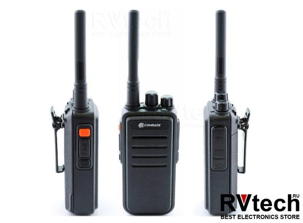 Comrade R7 VHF Портативная рация UHF диапазона, Купить Comrade R7 VHF Портативная рация UHF диапазона в магазине РадиоВидео.рф, Рации Comrade (Россия)