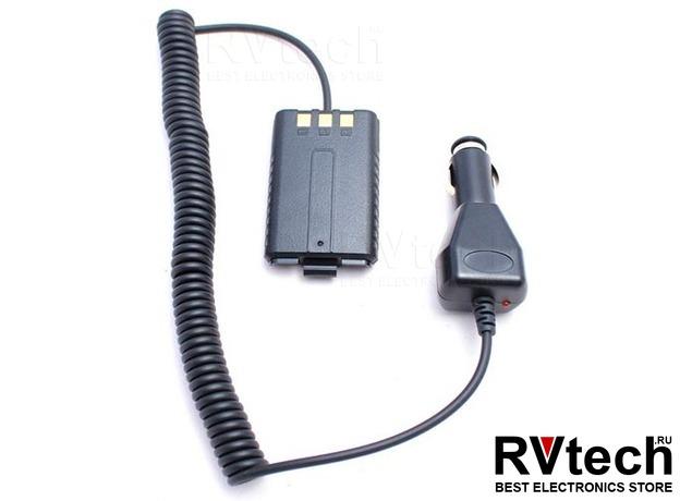 Автомобильный эмулятор питания BE-UV5R, Купить Автомобильный эмулятор питания BE-UV5R в магазине РадиоВидео.рф, Baofeng