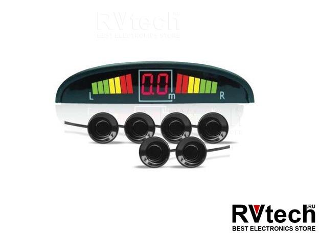 Парктроник AVS PS-126U (6 датчиков, светодиодный дисплей), Купить Парктроник AVS PS-126U (6 датчиков, светодиодный дисплей) в магазине РадиоВидео.рф, Автоэлектроника