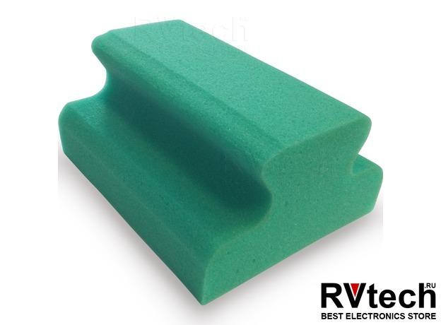 Губка поролоновая AVS SP-04 (рельса) в вакуумной упаковке (166х130x77мм), Купить Губка поролоновая AVS SP-04 (рельса) в вакуумной упаковке (166х130x77мм) в магазине РадиоВидео.рф, Уход за автомобилем
