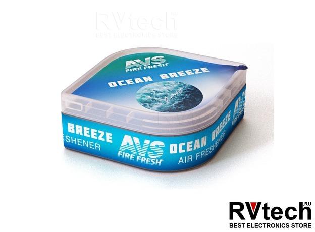 Ароматизатор AVS LGC-004 Fresh Box (аром. Океанский бриз/Ocean Breeze) (гелевый), Купить Ароматизатор AVS LGC-004 Fresh Box (аром. Океанский бриз/Ocean Breeze) (гелевый) в магазине РадиоВидео.рф, Ароматизаторы