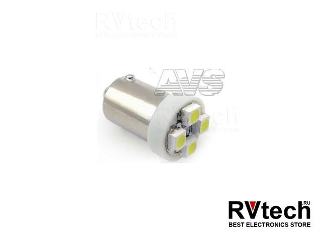 T8 В007 /белый/ (ВА9S) 4SMD 3258 T4W,10 шт., Купить T8 В007 /белый/ (ВА9S) 4SMD 3258 T4W,10 шт. в магазине РадиоВидео.рф, Светодиодная лампа