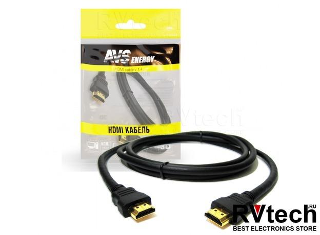 Кабель AVS HDMI(A)-HDMI(A) HAA-71 (1м), Купить Кабель AVS HDMI(A)-HDMI(A) HAA-71 (1м) в магазине РадиоВидео.рф, Автоэлектроника