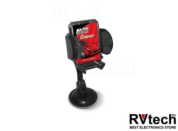 Держатель для телефона (малый) AVS AH-2081-XP, Купить Держатель для телефона (малый) AVS AH-2081-XP в магазине РадиоВидео.рф, Держатели телефонов, планшетов