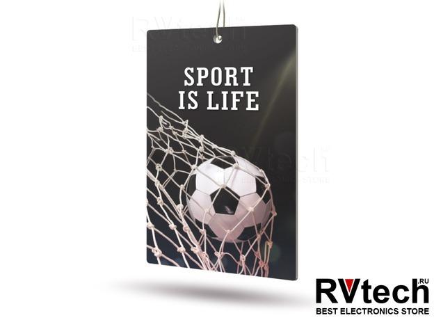 Ароматизатор AVS APS-030 Sport is Life (аром. Citrus/Цитрус) (бумажные), Купить Ароматизатор AVS APS-030 Sport is Life (аром. Citrus/Цитрус) (бумажные) в магазине РадиоВидео.рф, Ароматизаторы
