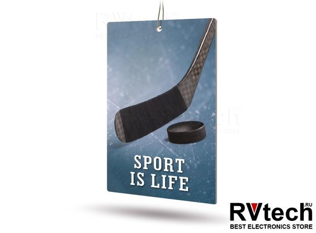 Ароматизатор AVS APS-032 Sport is Life (аром. Hot Pepper/Перец) (бумажные), Купить Ароматизатор AVS APS-032 Sport is Life (аром. Hot Pepper/Перец) (бумажные) в магазине РадиоВидео.рф, Ароматизаторы