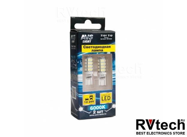 T10 T101 /белый/ (W2.1x9.5D) 54SMD 3014 9-30V W5W, коробка 2 шт., Купить T10 T101 /белый/ (W2.1x9.5D) 54SMD 3014 9-30V W5W, коробка 2 шт. в магазине РадиоВидео.рф, Светодиодная лампа