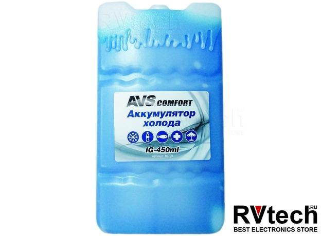 Аккумулятор холода AVS IG-450ml (пластик), Купить Аккумулятор холода AVS IG-450ml (пластик) в магазине РадиоВидео.рф, Автохолодильники и термосумки