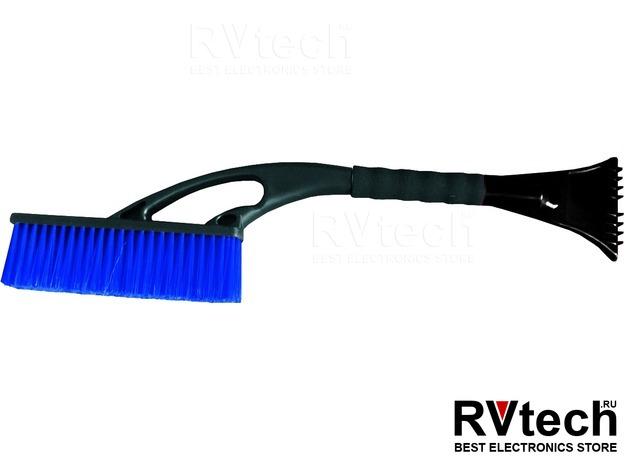 Щётка-скребок AVS WB-6311 (59 cм), мягкая ручка, распушенная щетина., Купить Щётка-скребок AVS WB-6311 (59 cм), мягкая ручка, распушенная щетина. в магазине РадиоВидео.рф, Уход за автомобилем