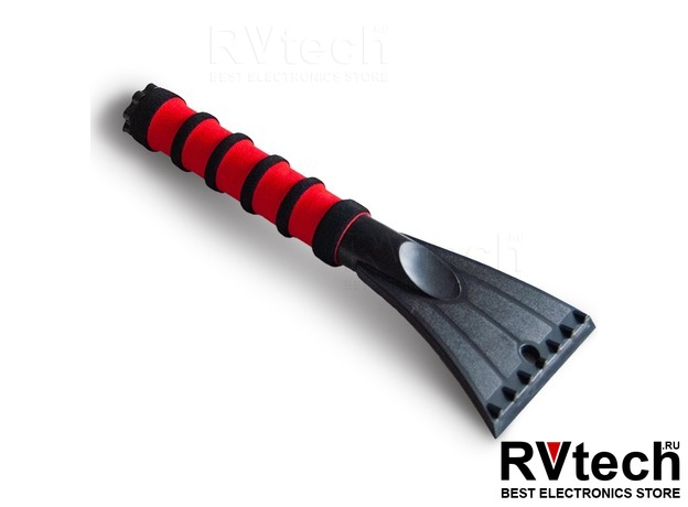 Скребок с мягкой ручкой AVS IC-2102 (26 см), Купить Скребок с мягкой ручкой AVS IC-2102 (26 см) в магазине РадиоВидео.рф, Уход за автомобилем