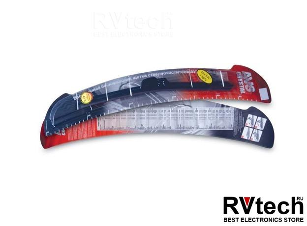Щетки стеклоочистителя бескаркасные AVS Basic Line BL-18 (45см) (1шт.), Купить Щетки стеклоочистителя бескаркасные AVS Basic Line BL-18 (45см) (1шт.) в магазине РадиоВидео.рф, Щетки стеклоочистителя