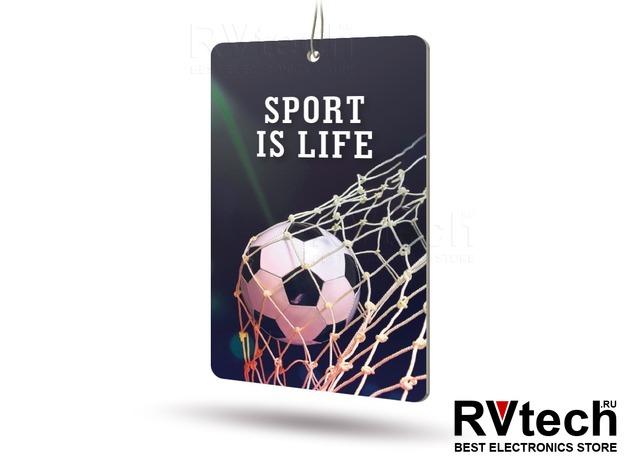 Ароматизатор AVS APS-025 Sport is Life (аром. Leader/Лидер) (бумажные), Купить Ароматизатор AVS APS-025 Sport is Life (аром. Leader/Лидер) (бумажные) в магазине РадиоВидео.рф, Ароматизаторы