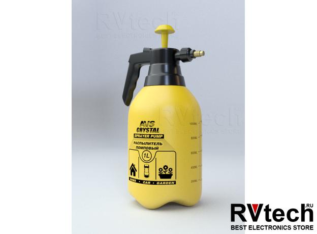 Распылитель помповый AVS CW-01 (1 литр), Купить Распылитель помповый AVS CW-01 (1 литр) в магазине РадиоВидео.рф, Уход за автомобилем