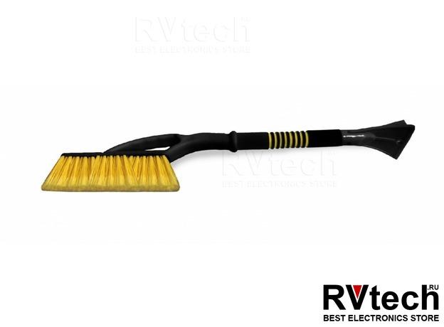 Щётка-скребок AVS WB-6325 (66 cм), мягкая ручка, распушенная щетина., Купить Щётка-скребок AVS WB-6325 (66 cм), мягкая ручка, распушенная щетина. в магазине РадиоВидео.рф, Уход за автомобилем