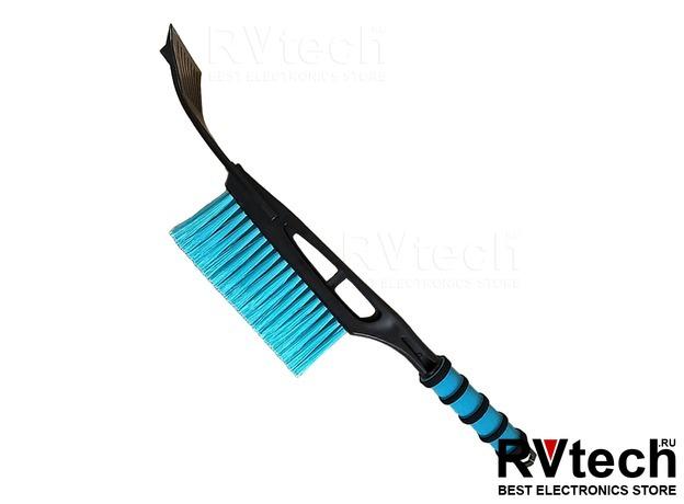 Щётка-скребок AVS WB-6316 (44,5 cм), мягкая ручка, распушенная щетина., Купить Щётка-скребок AVS WB-6316 (44,5 cм), мягкая ручка, распушенная щетина. в магазине РадиоВидео.рф, Уход за автомобилем