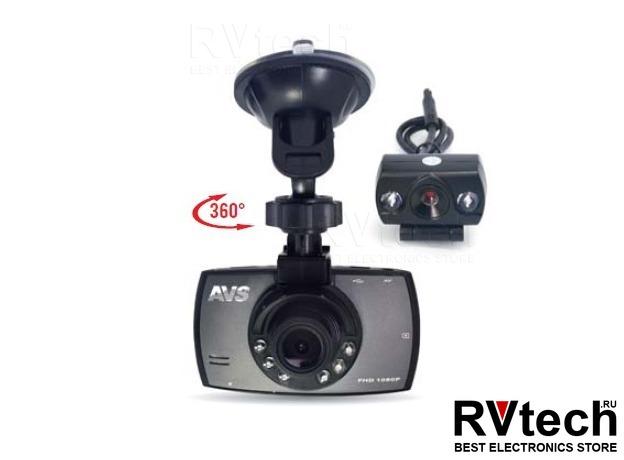 Видеорегистратор автомобильный AVS VR-246DUAL, Купить Видеорегистратор автомобильный AVS VR-246DUAL в магазине РадиоВидео.рф, Автоэлектроника