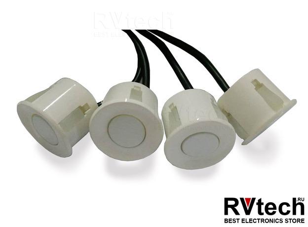 Датчик парктроника 2.5 м (белый) 18мм AVS PS-18, Купить Датчик парктроника 2.5 м (белый) 18мм AVS PS-18 в магазине РадиоВидео.рф, Автоэлектроника