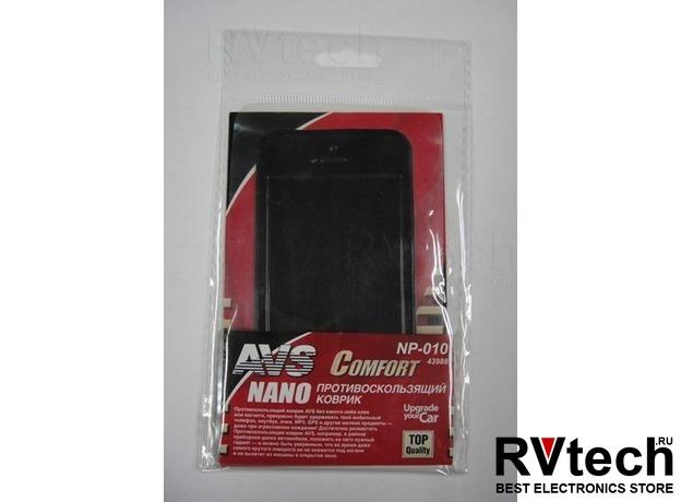 Противоскользящий коврик NANO AVS NP-010 (12,5х6см), Купить Противоскользящий коврик NANO AVS NP-010 (12,5х6см) в магазине РадиоВидео.рф, Держатели телефонов, планшетов