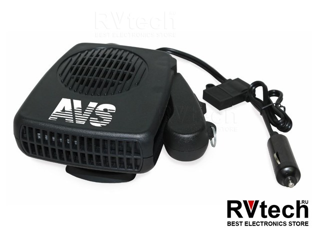 Тепловентилятор автомобильный 12В 150W (2 режима) AVS Comfort TE-310, Купить Тепловентилятор автомобильный 12В 150W (2 режима) AVS Comfort TE-310 в магазине РадиоВидео.рф, Автоэлектроника