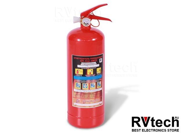Огнетушитель ОП-2 (ABCE) (Ярпожинвест), Купить Огнетушитель ОП-2 (ABCE) (Ярпожинвест) в магазине РадиоВидео.рф, Аварийные принадлежности