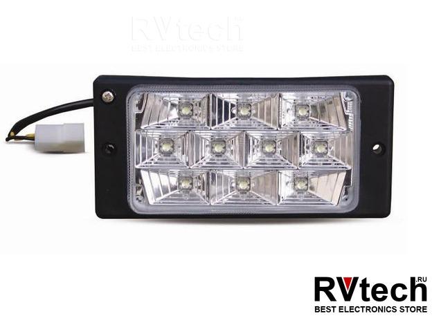 Противотуманные фары светодиодные (10LED) AVS PF-174L (12V 55A H3, LADA 2110-2112) 2 шт. белый, Купить Противотуманные фары светодиодные (10LED) AVS PF-174L (12V 55A H3, LADA 2110-2112) 2 шт. белый в магазине РадиоВидео.рф, Светотехника