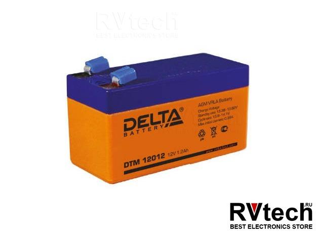 DELTA DTM 12012 - Аккумулятор для UPS. 12 V, 1,2 A, Купить DELTA DTM 12012 - Аккумулятор для UPS. 12 V, 1,2 A в магазине РадиоВидео.рф, Аккумулятор Delta DTM
