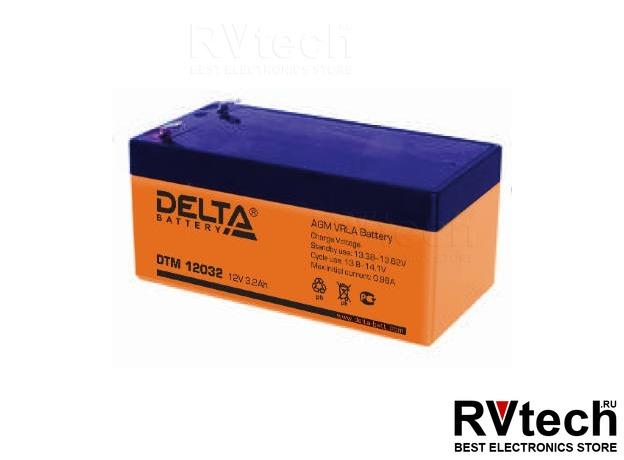 DELTA DTM 12032 - Аккумулятор для UPS. 12 V, 3,2 A, Купить DELTA DTM 12032 - Аккумулятор для UPS. 12 V, 3,2 A в магазине РадиоВидео.рф, Аккумулятор Delta DTM