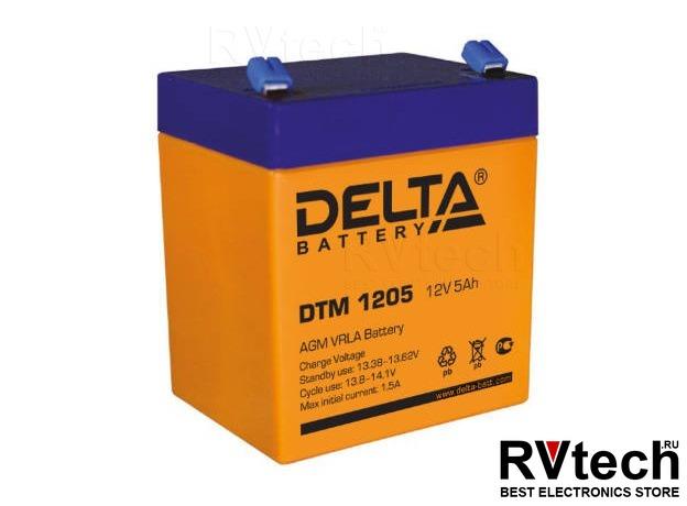 DELTA DTM 1205 - Аккумулятор для UPS. 12 V, 5 A, Купить DELTA DTM 1205 - Аккумулятор для UPS. 12 V, 5 A в магазине РадиоВидео.рф, Аккумулятор Delta DTM