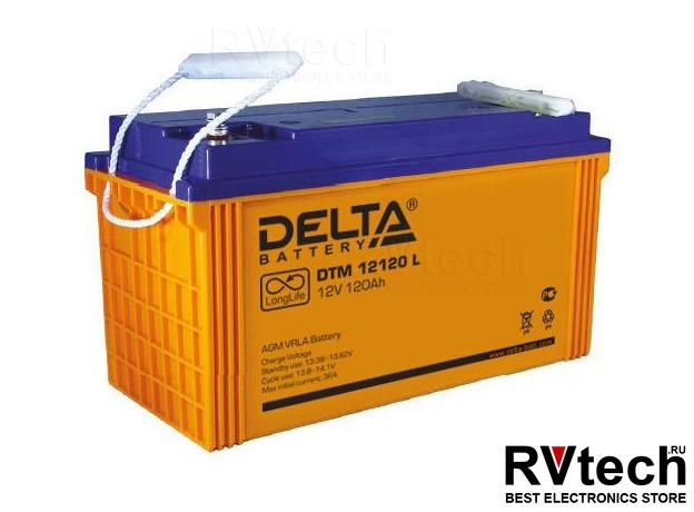 DELTA DTM 12120 L - Аккумулятор для UPS. 12 V, 120 A, Купить DELTA DTM 12120 L - Аккумулятор для UPS. 12 V, 120 A в магазине РадиоВидео.рф, Аккумулятор Delta DTM