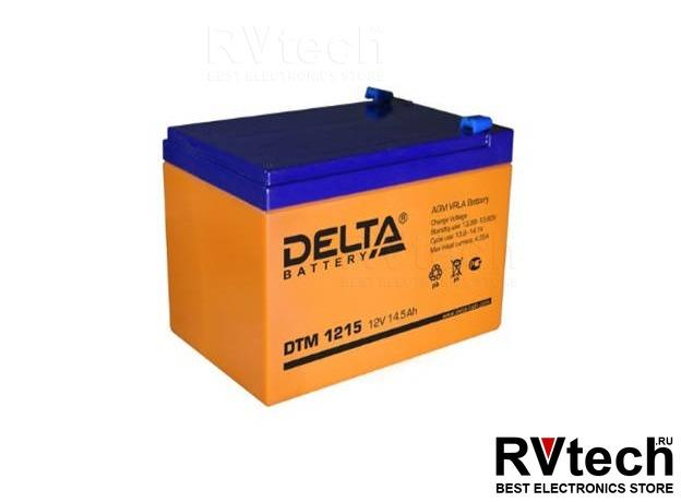 DELTA DTM 1215 - Аккумулятор для UPS. 12 V, 14,5 A, Купить DELTA DTM 1215 - Аккумулятор для UPS. 12 V, 14,5 A в магазине РадиоВидео.рф, Аккумулятор Delta DTM