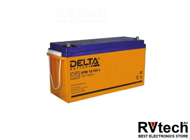 DELTA DTM 12150 L - Аккумулятор для UPS. 12 V, 150 A, Купить DELTA DTM 12150 L - Аккумулятор для UPS. 12 V, 150 A в магазине РадиоВидео.рф, Аккумулятор Delta DTM
