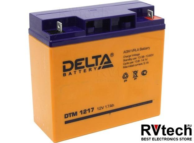 DELTA DTM 1217 - Аккумулятор для UPS. 12 V, 17 A, Купить DELTA DTM 1217 - Аккумулятор для UPS. 12 V, 17 A в магазине РадиоВидео.рф, Аккумулятор Delta DTM